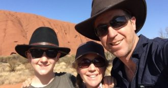Bega family still smiling after Air Force rescue from outback