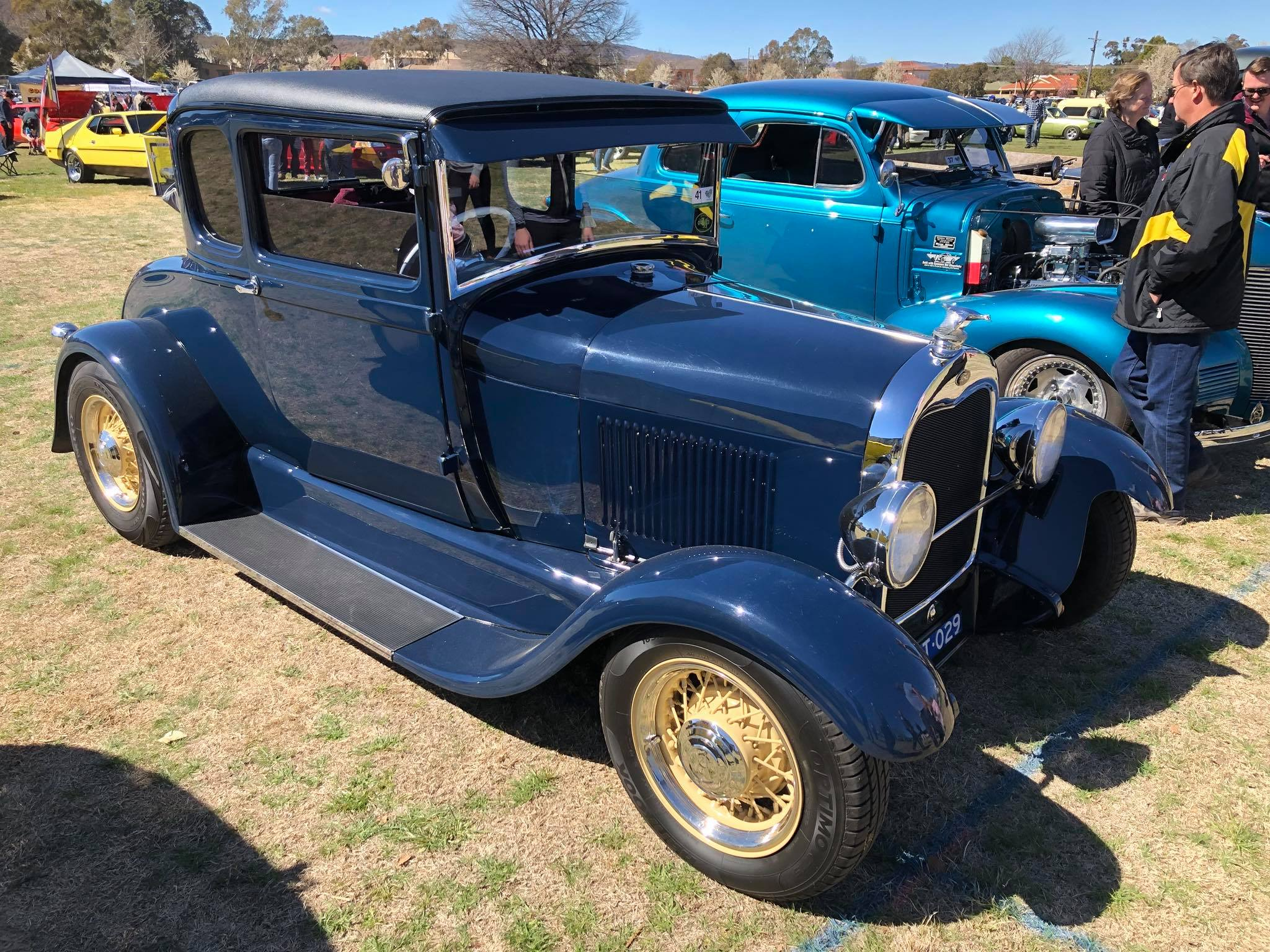 Learn about Ford's history in Australia with classic vehicles like this ...