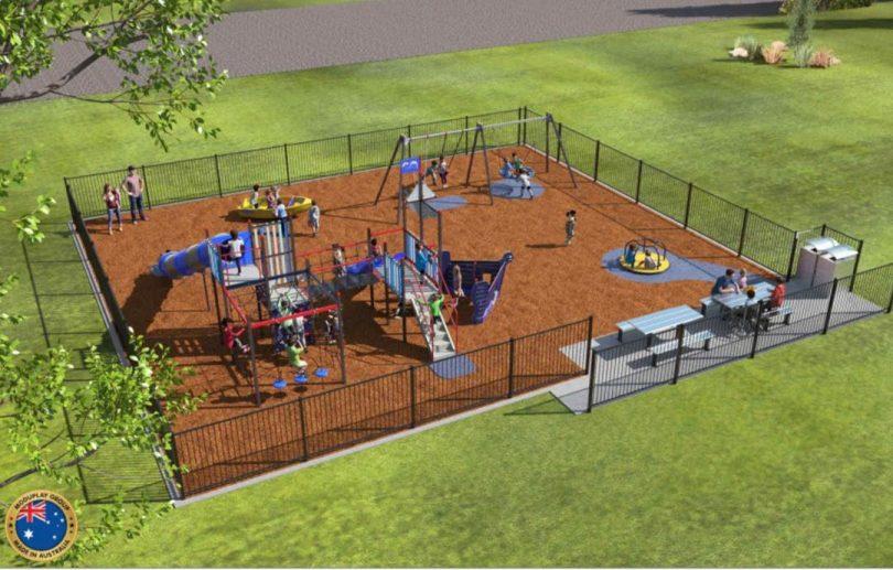 Adaminaby Playground. Photo: Snowy Monaro Regional Council.
