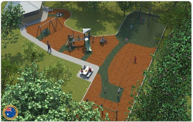 Bombala Playground. Photo: Snowy Monaro Regional Council.