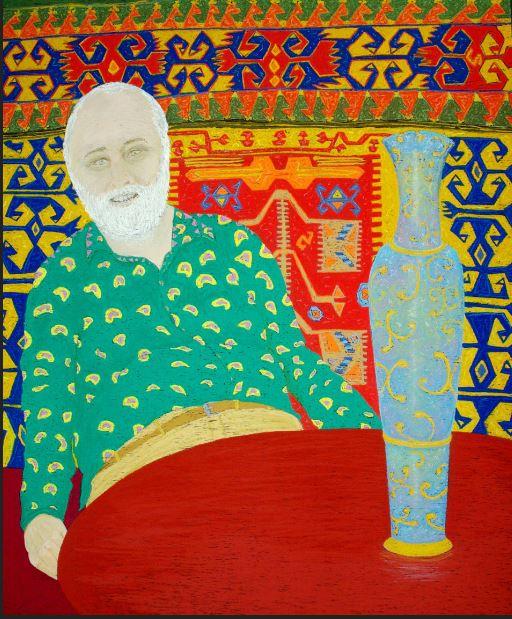 Bega's Tim Moorhead -Cincuenta Man Self Portrait. Photo: Supplied.