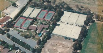 A sad end for former 'booming' tennis hub after Hawker Tennis Centre gutted by blaze