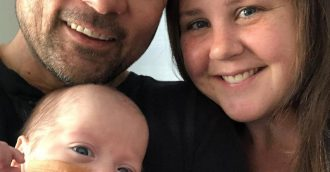 Baby at centre of viral video honouring South Coast firefighters finally home from hospital after 130 days