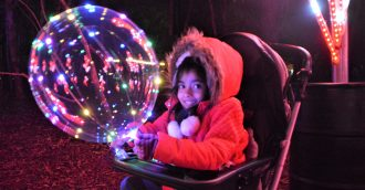 Cascading colours, spiralling trees and themed entertainment nights hit the mark at NightFest