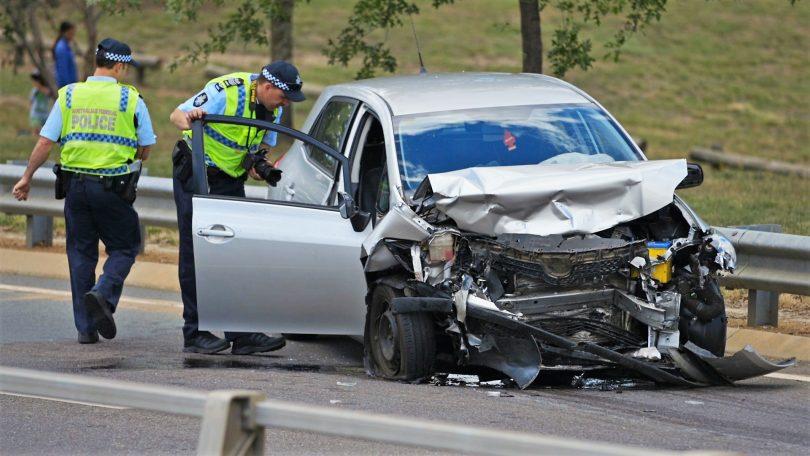 Car accident at Amaroo
