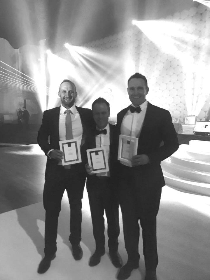 Directors of Ray White Canberra, pictured left to right; Sam Faulks, Scott Jackson and Ben Faulks.