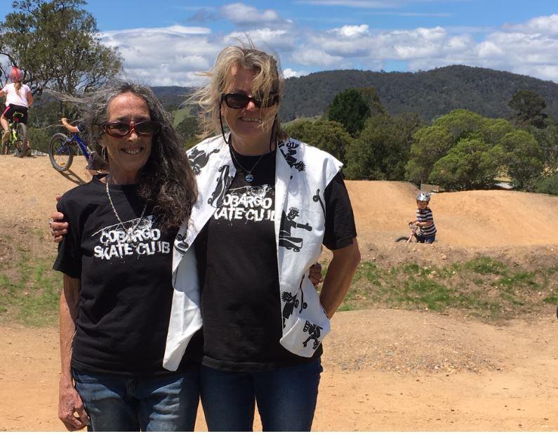 Susan Bear and Tania Lingard. Photo: Ian Campbell