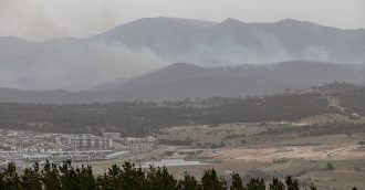 Pierce's Creek fire: conditions ease, but consider yourself warned