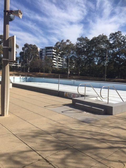 The Philip Swimming Pool underwent refurbishment during the winter months. Photo Tim Gavel