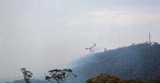 Pierce's Creek bushfire: Tidbinbilla staff closest to the fire frontline