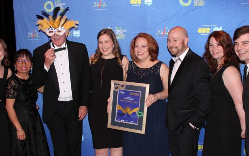 Excellence and achievements celebrated at 2018 Canberra Tourism Awards
