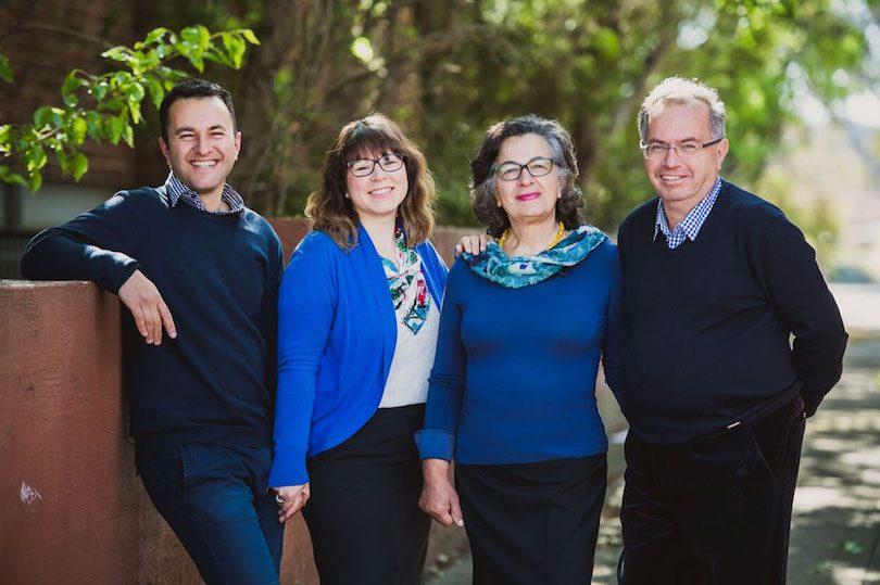 From L to R: Daniel Raad, Stefanie Raad, Marie Ann Raad and George Raad.