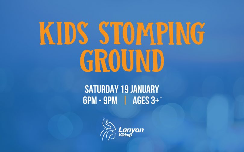 Kids Stomping Ground at Lanyon Vikings | The RiotACT