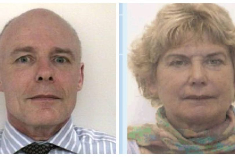 William McCarthy and Francisca de Haan have been reunited with family. Photo: NSW Police.