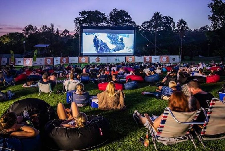Sit under the stars and watch a Christmas movie classic this festive season. Photo: Supplied