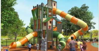 Check out the new Centennial Park playground in Cooma