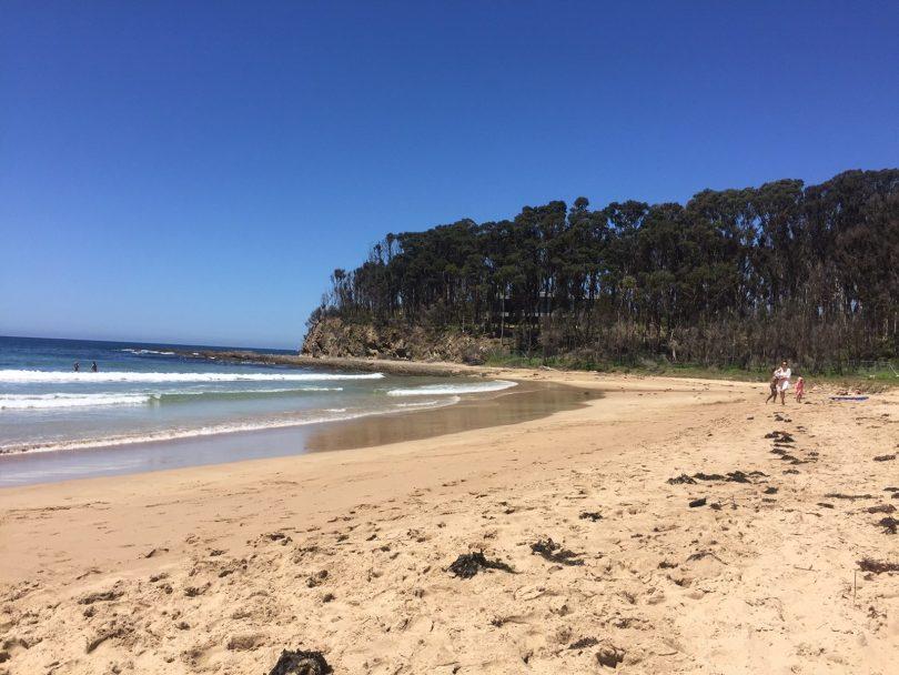 McKenzies Beach at Malua Bay.