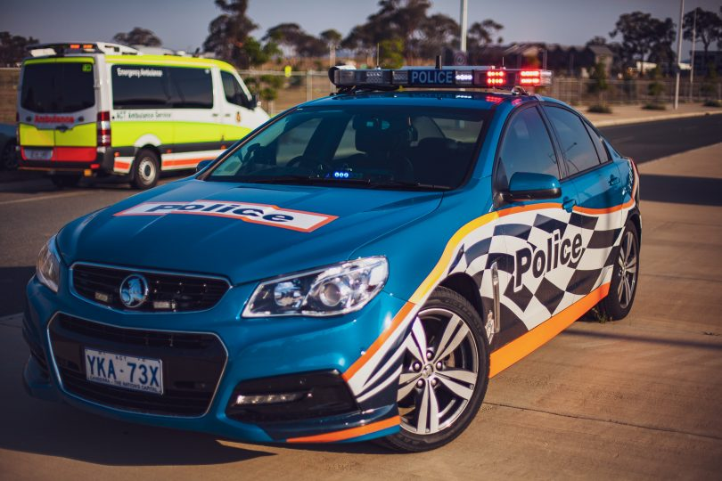 Drivers must slow down to 40km/hour when driving past ambulances, police and other emergency vehicles with red or blue flashing lights on the side of the road
