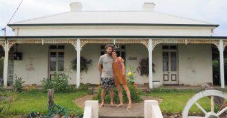 Three week community reno on one of Bega's most prestigious old homes