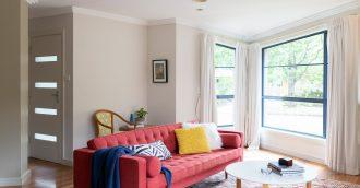 Updated light-filled Hackett home makes family living easy