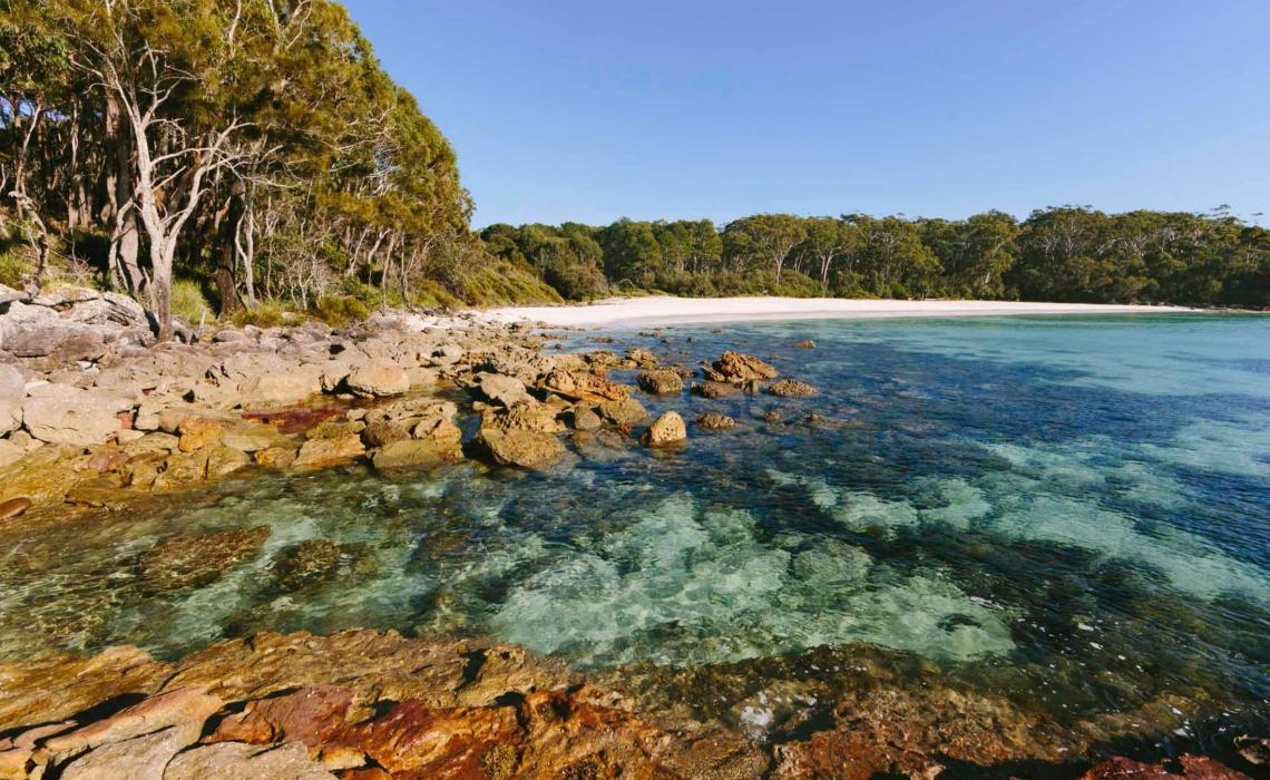 Unspoilt Jervis Bay. Photo: Visit NSW.