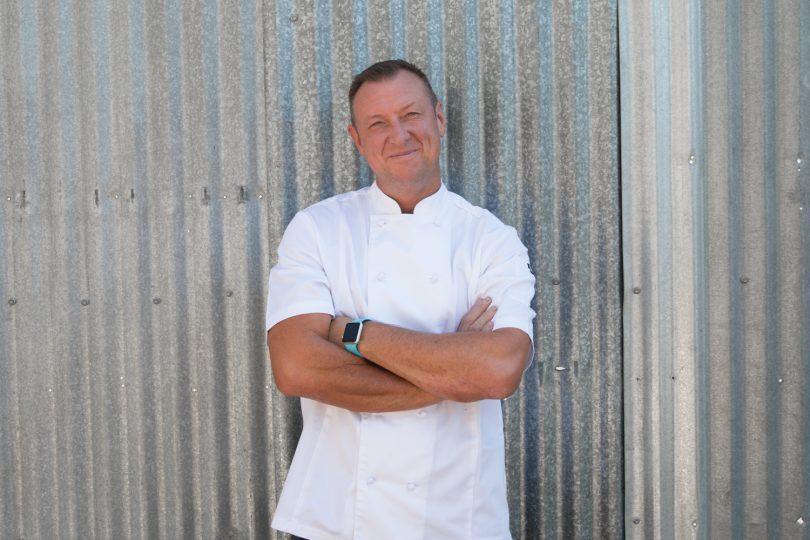 Darren Perryman, Executive Chef, Pialligo Estate. Photo: Supplied.