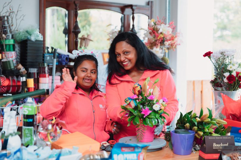 Geetha and Gayana Wijewickrema from GG's Flowers and Hampers.