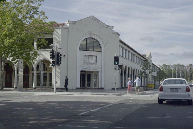 The Sydney building