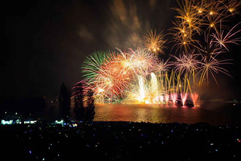 2019 Skyfire, Fireworks