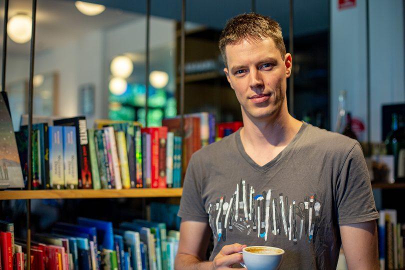 L'auteur de Canberra Jack Heath