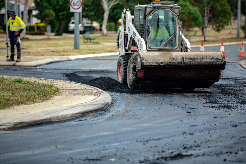 road resurfacing program