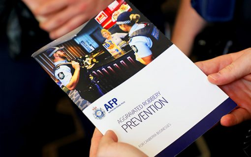 Police launch guidebook to help Canberra businesses thwart armed robberies