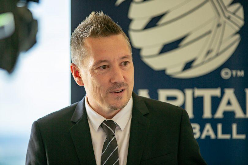 Capital Football CEO Phil Brown