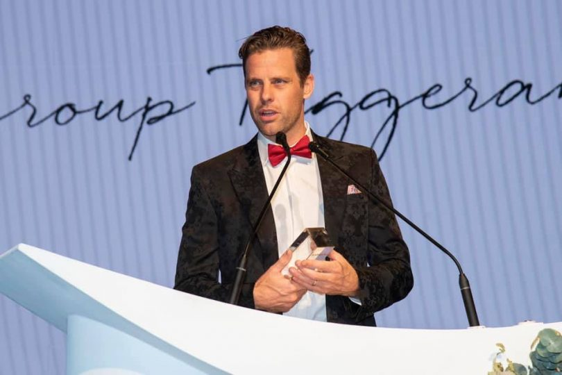 Will Honey from IPG Tuggeranong said it was an honour for the firm to be recognised nationally. Photo: Supplied.