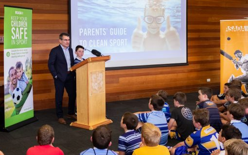 ASADA focuses on parental education to fight doping in sport