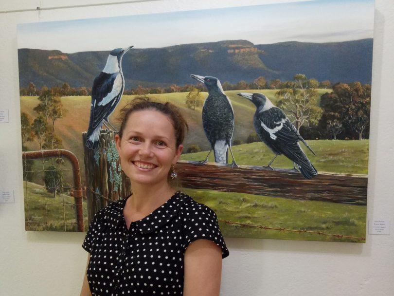 Nature illustrator Ebony Bennett captures Canberra's birds and wildlife