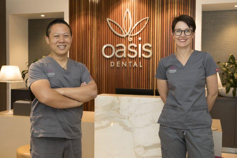 Oasis Dental, Rick Luu, Fiona Ligertwood