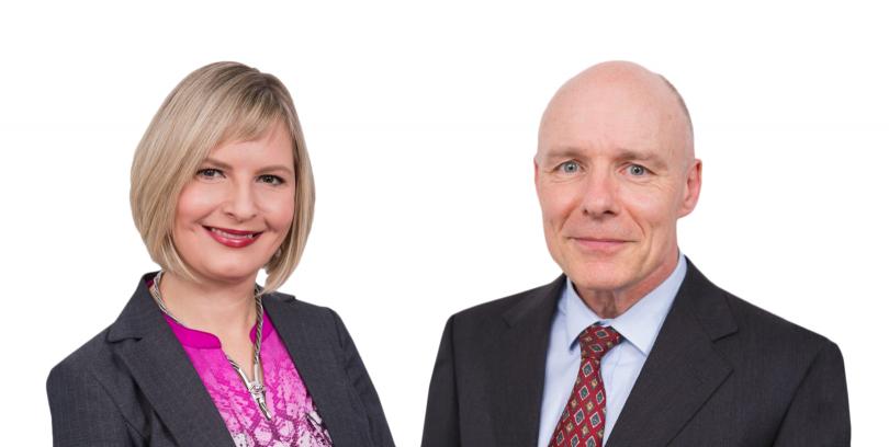 Above, Senior Counsel Bill McCarthy. Below, Senior Associate Kate Meller.