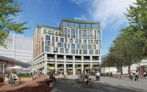 Geocon unveils third attempt at Garema Place hotel development