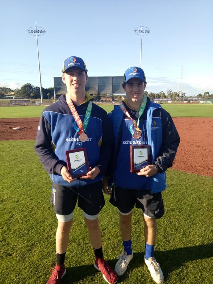 Trent Buchanan and Cooper Morgan. Photo: Supplied.