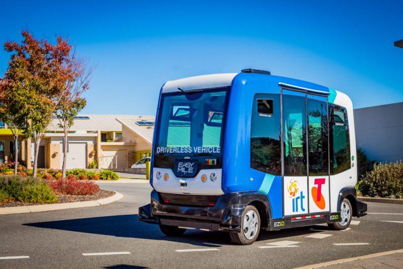 driverless shuttle bus