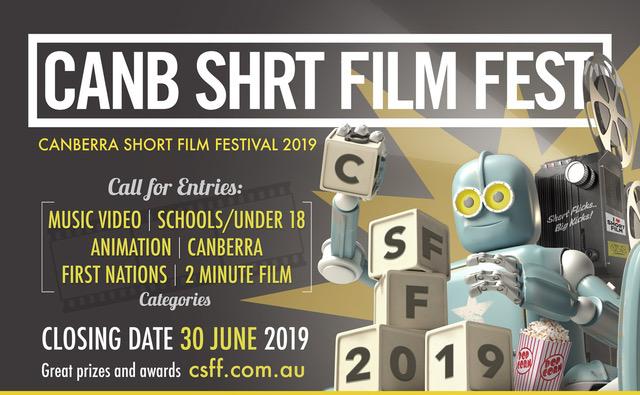 Canberra Sh(o)rt Film Festival 2019