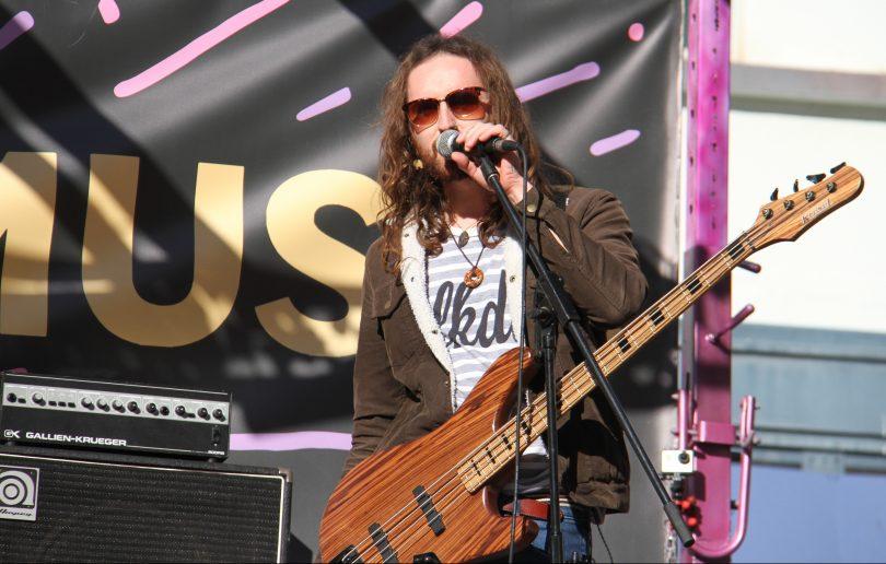 Hands Like Houses bassist Joel Tyrell.