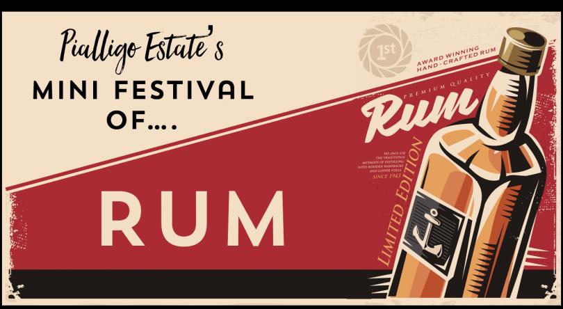 Pialligo Estate's Mini Festival of Rum - Tickets on sale now