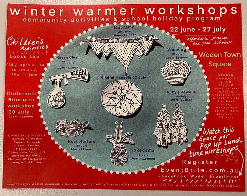Winter Warmer Workshops