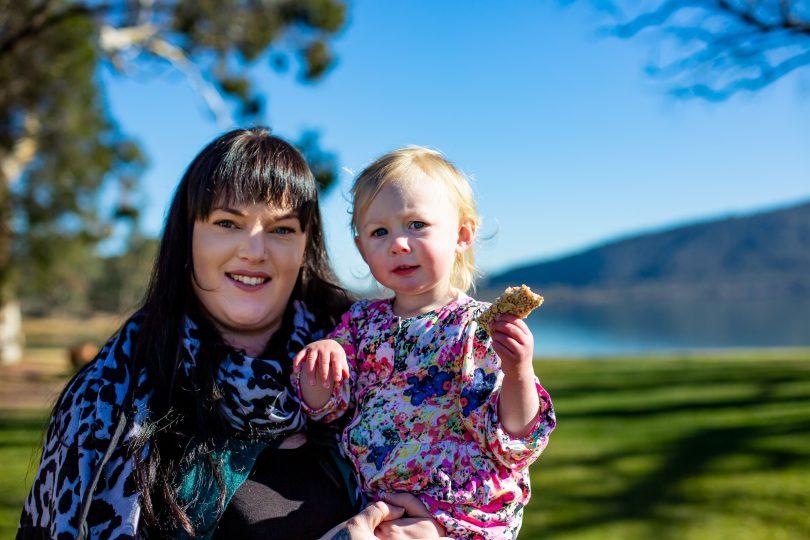 Peta and her daughter Billie