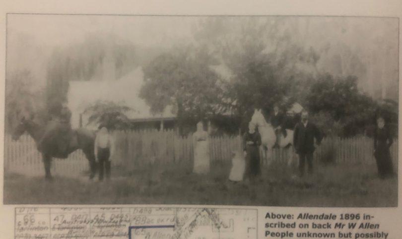 Allendale 1896. Photo: Gordon Allen