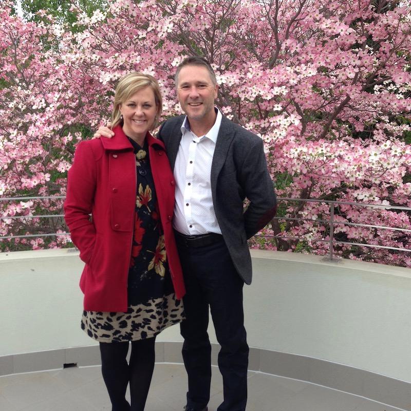 Michelle Melbourne and Phillip Williamson