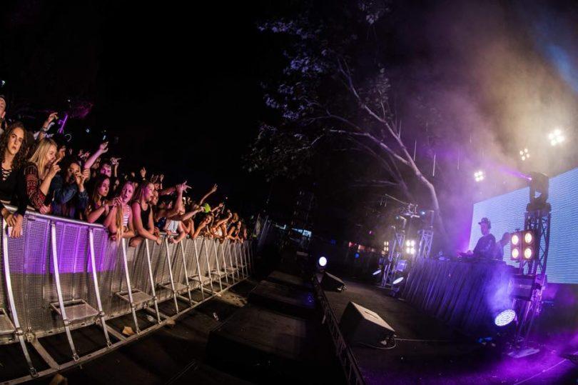 Festival after dark
