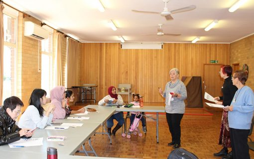 Free English language classes in Woden, bringing communities together